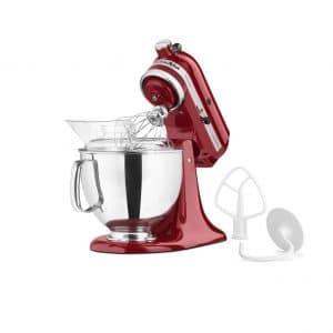 KitchenAid KSM150PSER 5-Qt Stand Mixer, Empire Red