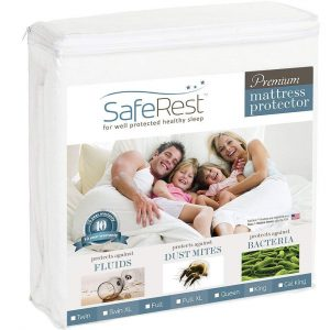 SafeRest King Size Waterproof Mattress Protector