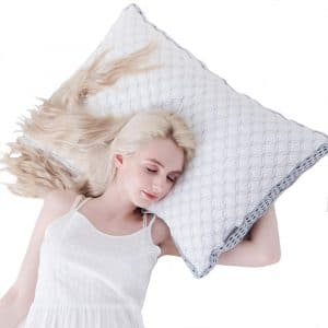 LIANLAM Memory Foam Cooling Pillow