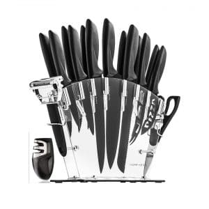 HomeHero Stainless Steel Set with 13 Kitchen Knives