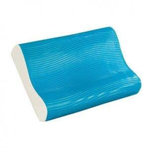 Comfort Revolution Pink Waves Cooling Gel Pillow
