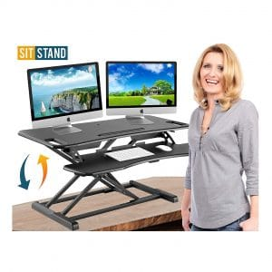 Defy Desk Standing Stand up Laptop Table Stand
