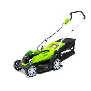 Greenworks MO40B00 Cordless Lawn Mower